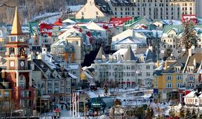 View over Mount Tremblant